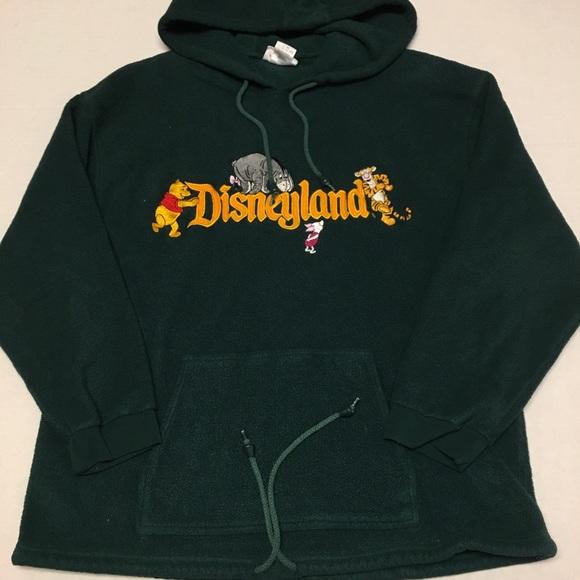 Vintage Disneyland Disney fleece hoodie sweatshirt